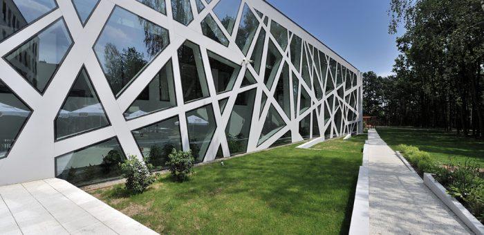 Sala konferencyjna Uniwersytetu Śląskiego w Katowicach
