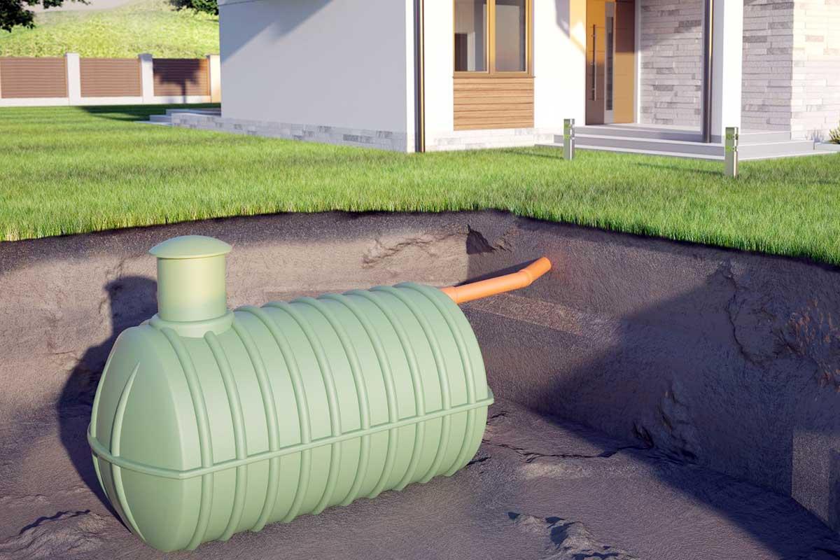 Podziemny zbiornik na deszczówkę