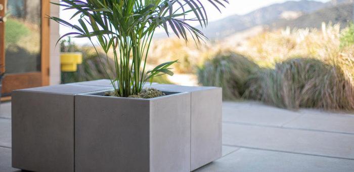 Donice  betonowe jako element przestrzeni