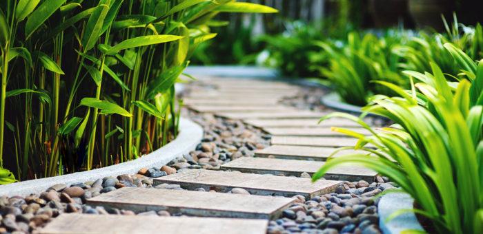 Ścieżki i alejki w ogrodzie